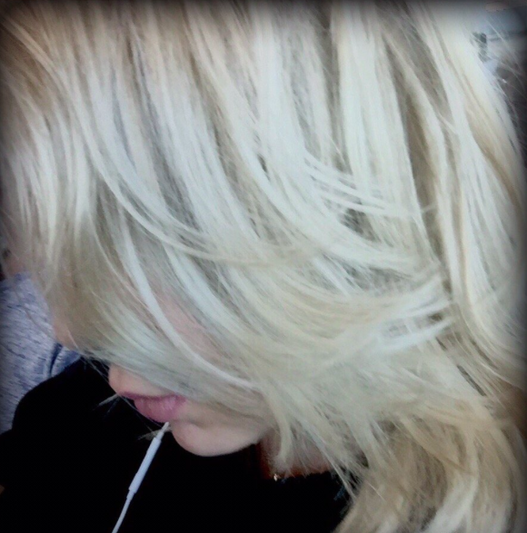 Hair color - icy blond