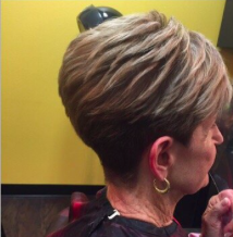Haircut, color and highlights