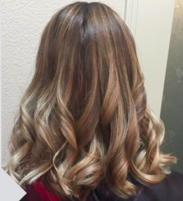 Hair color, cut and style